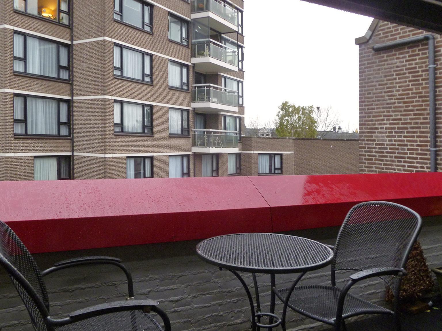 Oude situatie balkon